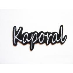 Appliqué patch prénom Kaporal3