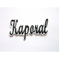 Appliqué patch prénom Kaporal