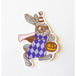 Patch thermocollant lapin et citrouille