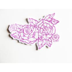 Ecusson thermocollant roses2 (fleurs)