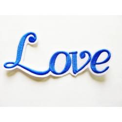 Appliqué patch thermocollant love en grosses lettres fines