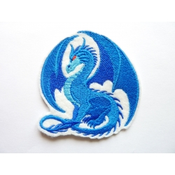 Patch thermocollant dragon bleu