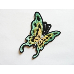 Patch thermocollant papillon brillant