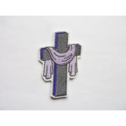 Appliqué thermocollant croix de Pâques