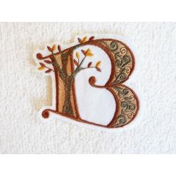 Appliqué lettre B