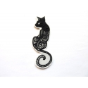 Ecusson chat assis (cat)